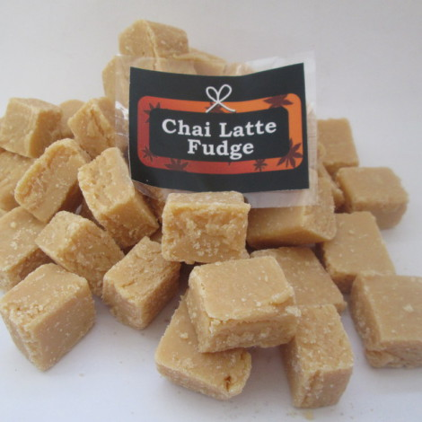 Chai Latte Fudge