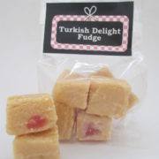Turkish Delight Fudge